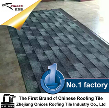 Fiberglass Asphalt Shingle, Colorful CL Rock stone granule coated roof tile