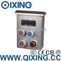 Stainless Receptacle Combination Socket Box (QCBM-0201)