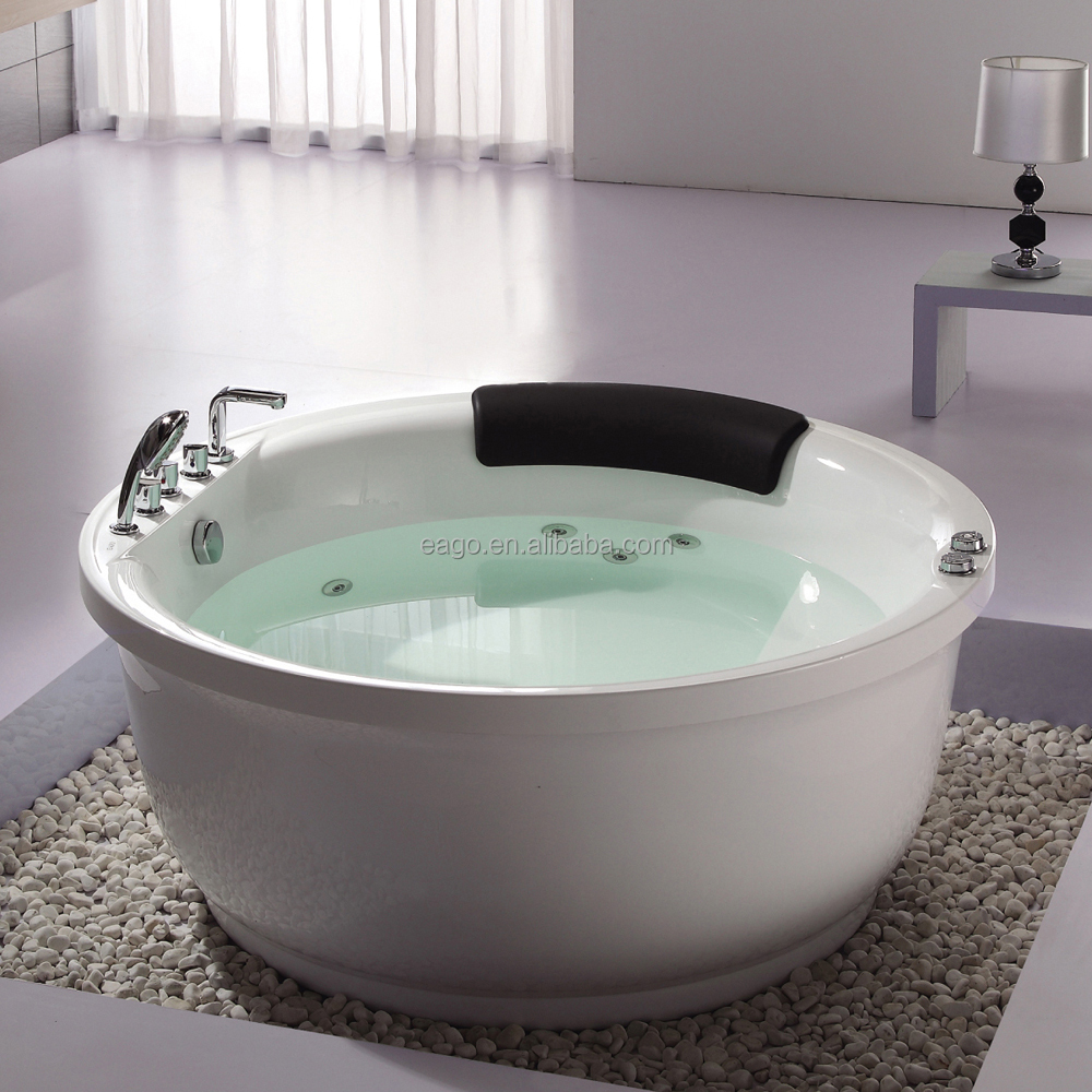 Free Standing Whirlpool Massage Bathtub with Good Price (AM206RD)
