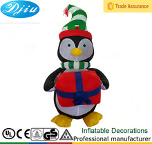 New outdoor 4ft mini wholesale inflatable Penguin party christmas decorations 2015