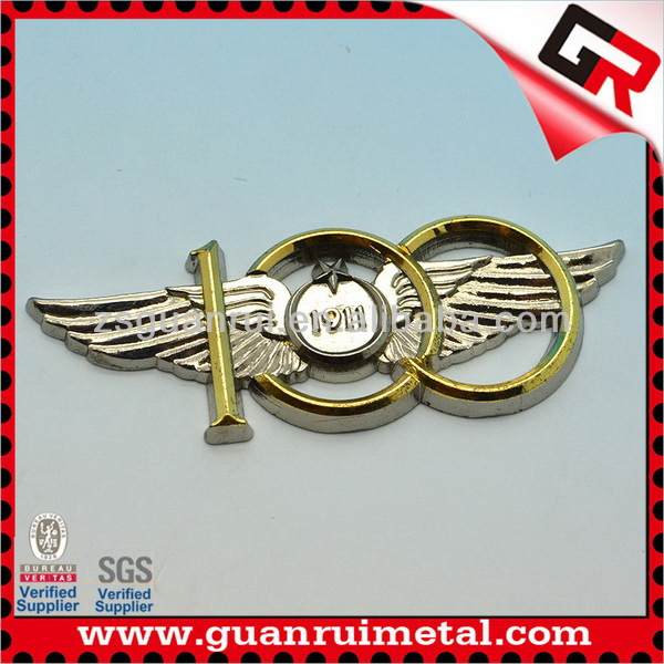 Design low price custom metal car emblem