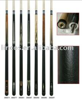 2pc cheap billiard cue stick