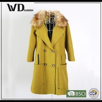 Dresses 2015 winter jacket with PU pocket, fleece jacket