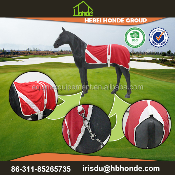 horse fleece cooler rug