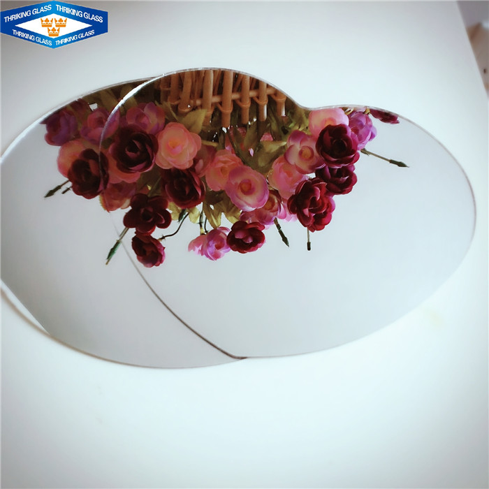 beveled edge decorative 6mm oval safety mirror price