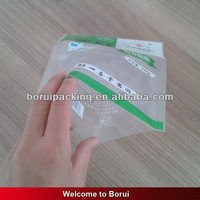 colored plastic food bags/three side sealing bag,NY/PE heat seal pouch