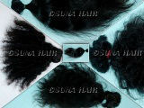 Hot quality pure virgin indian hair/remy hair/natural curly human hair extension