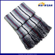 HZW-11045 2015 fashionable 100%Acrylic football Unisex knit new shawl