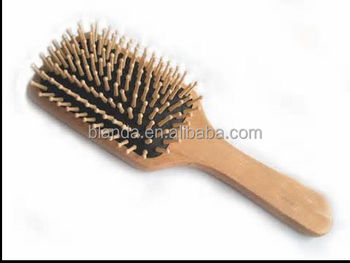 permanent mini wooden hair brushes wholesale with private label