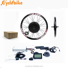 48v 1000w MTX wheel hub motor Electric Bike Conversion Kit with lithium battery