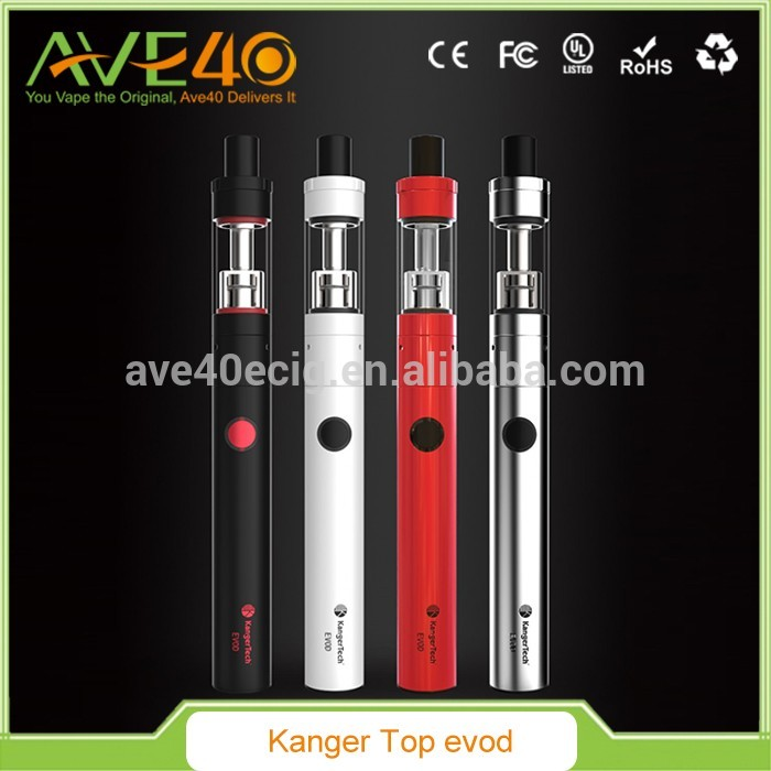 China Suppliers AVE40 Best Selling e Cigarette Vape Pen Kanger topevod Kit 650Mah topevod in Stock