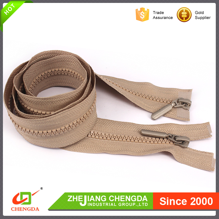 New Products Looking For Distributor 2# Double Point Metal Zipper