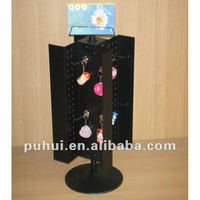 metal counter top spinning keyring display with good quality