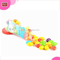 Assorted colors Olive shaped bubble gum
