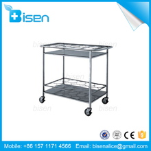 BS-C68 Hospital-using Stainless Steel Medical Trolley for Delivering Hot Water Bottle