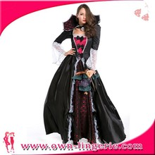 High Quality Wholesale Cheap Adult Carnival Girls Gothic Vampire Costume