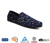 uk top design cheap cool style slip on oem customized printing navy men casual canvas plimsolls shoes
