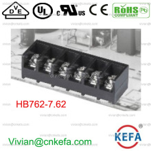 7.62mm pitch KEFA Barrier terminal block 24A side pin wire cable socket terminal connector electric board pin connector HB762