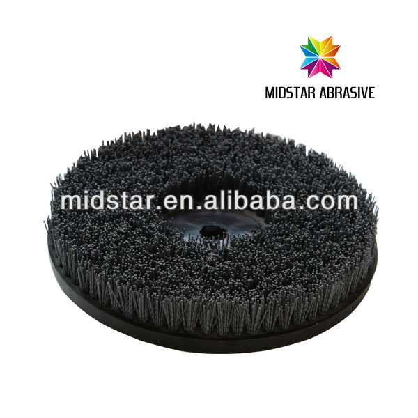 MIDSTAR abrasive nylon wheel brushes
