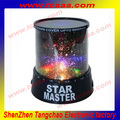 Star Master Fish Night Light Novelty LED Projector Living Colors Lamp