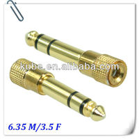 6.35mm plug to 3.5mm jack Audio Adapter