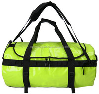 500D pvc tarpaulin waterproof duffle bag for travel