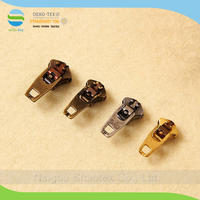 3YG 4.5YG 5YG Brass Spring Lock Slider for Jeans