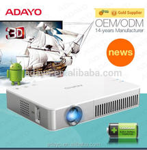 ADAYO China factory OEM ODM Android wifi pico projector