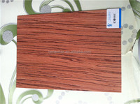 high quality sliced cut 0.3mm Red sandalwood recon furniture /recomposed Paorosa wood veneer/ for furniture