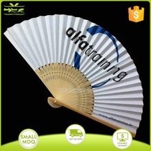 Promotional bamboo folding hand fan ribs