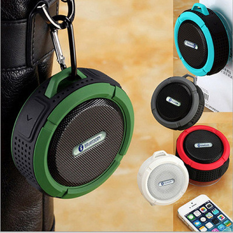 Portable Mini Wireless Waterproof Bluetooth Speaker Shower Bluetooth Speaker for mobile Phone MP3