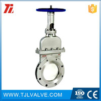 class150/pn10/pn16 flange type fnw 67b 6 in 150 stainless flanged knife gate valve d470947 good quality good price