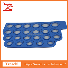 Blue Plastic American Standard Finger Ring Sizer 2-13(23 sizes) Measurement Disposable Rings Gauge