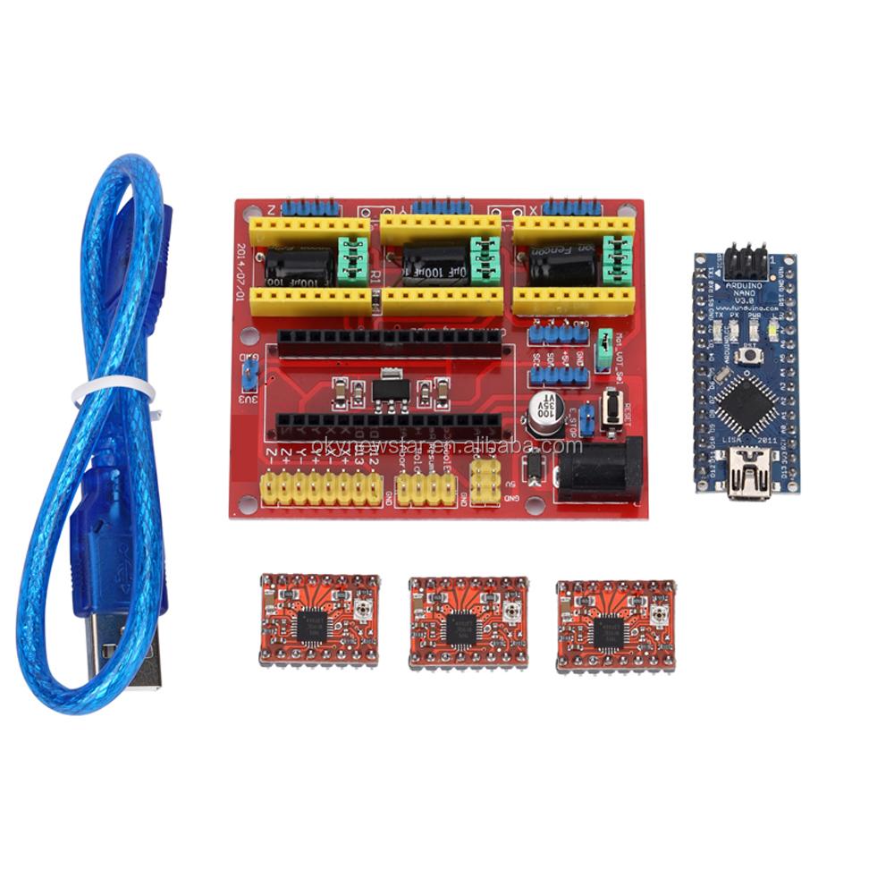 Nano V4 3x A4988 Ramps14 3d