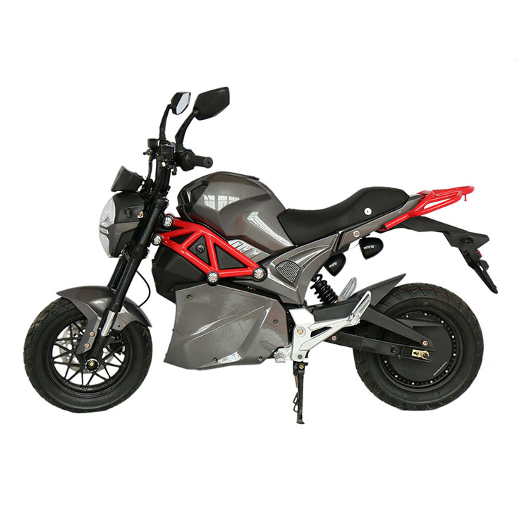 Custom color road sports car 3000W electric motorcycle