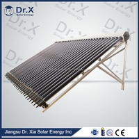 2016 safe heat pipe 18tube solar collector