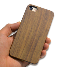 high quality 100% solid custom wooden Maple Wood +PC cell phone case for i phone 7 plus phone case