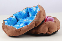Super-soft Short plush Eco-Friendly Winter Warm Octagonal nest Pet Beds Dog Kennel Cushion for Dog/ Cat