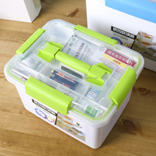 2017 New Products Plastic Emergency First Aid Kit Storage Box