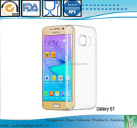 new product launch transparent TUP mobile phone bumper case cover for samsung galaxy S7