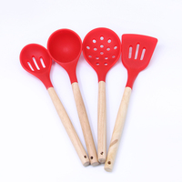 Silicone Kitchen Utensil Cooking Set,Silicone Products In Home And Kitchen