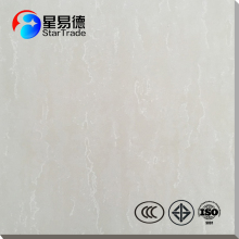 bright colored white shiny hotel lobby overland soluble salt porcelain floor tile in china