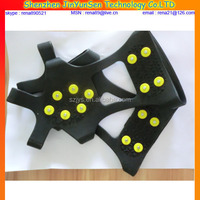 popular rubber shoes cover magic spike ice gripper