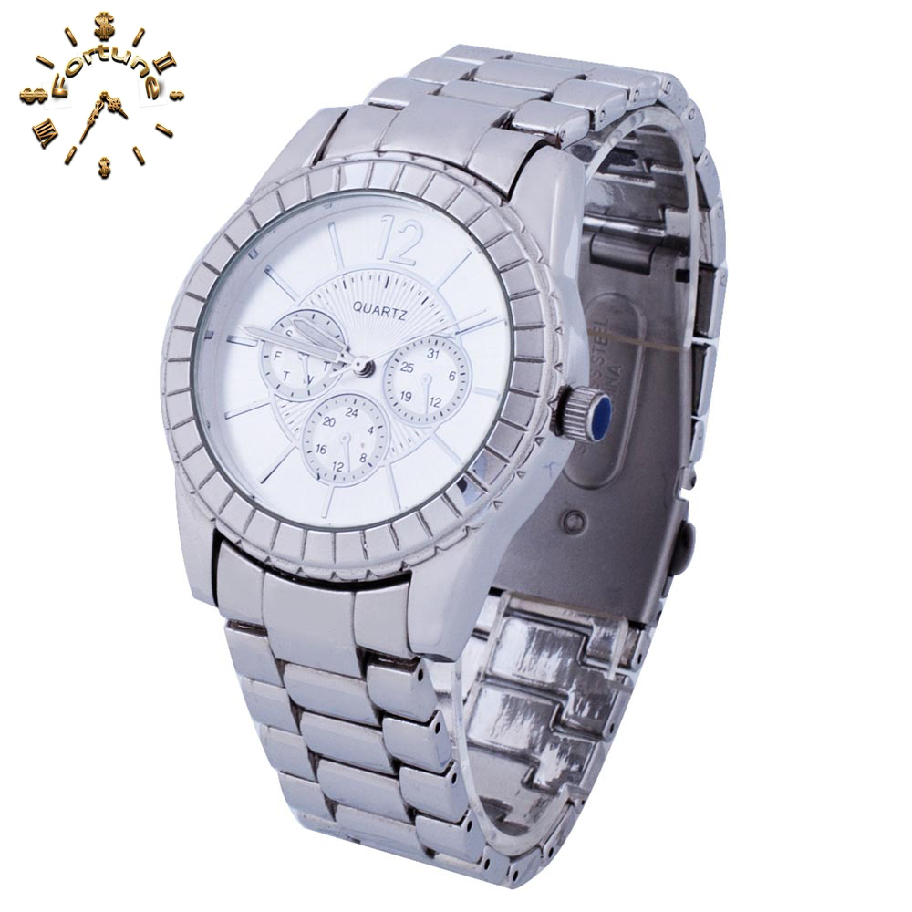 2017 Unique design stainless steel oversized watches for men