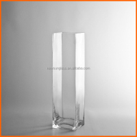 Wholesale clear crystal glass vase