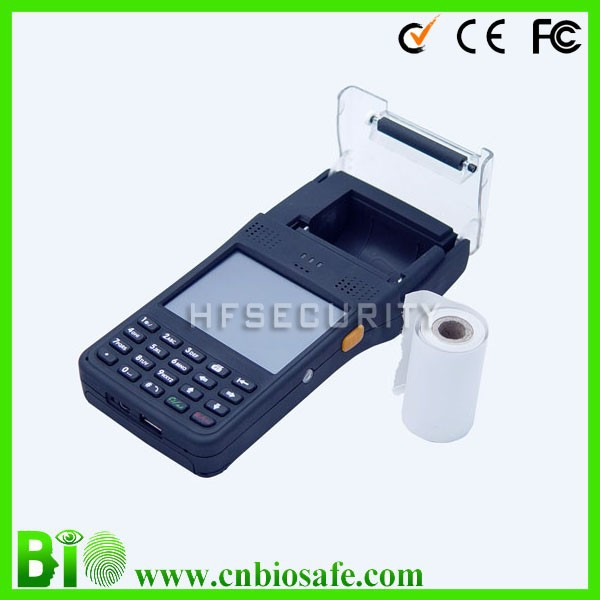 New arrival pos terminal wtih Thermal Printer barcode Laser scanner and Wi-Fi / GPRS HF-PH07