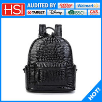 top quality BSCI audited factory backpack leather