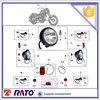 motorcycle light assy motorcycle reflector for sale