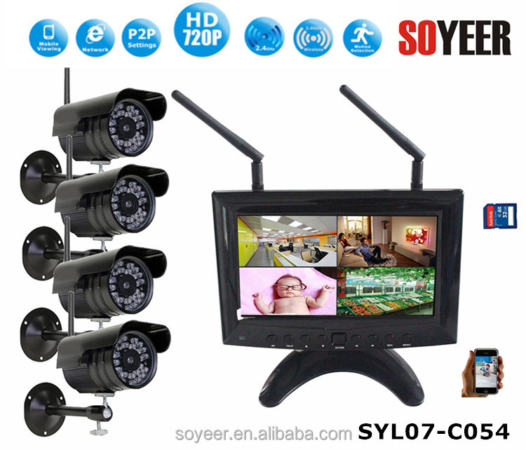 4Ch Economical 1080P HD-SDI CCTV DVR h264 cms free software