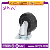 heavy duty caster / pu caster wheel 4 inch with brake